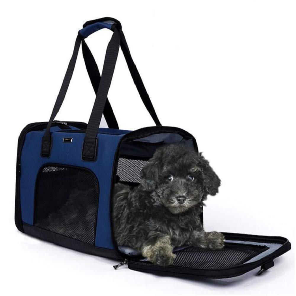 QZQWQNA Pet travel carrier bag Multi-functional Folding Pet Puppy Dog Cat Car Seat Basket Carry Cat Bag backpack Cat Carrier backpack