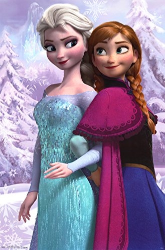 Anna and Snow Queen Elsa Poster