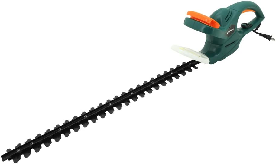 """DOEWORKS 4.5AMP Corded Electric Hedge Trimmer with 25"""" Dual Steel Blade"""