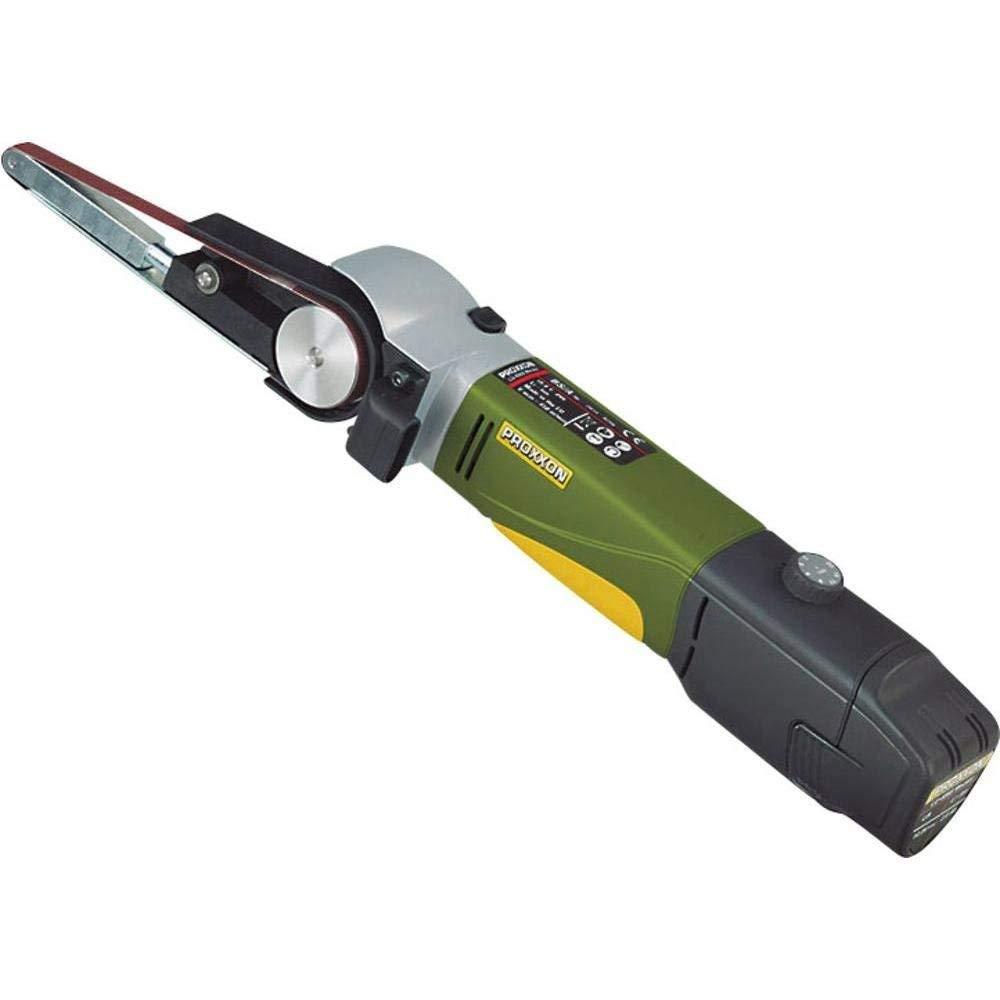 Proxxon 29 810 10.8V Ión de litio amoladora de ángulo inalámbrica - Amoladora angular (700 RPM, Batería, Ión de litio, 10,8 V, 2,6 Ah, 900 g)