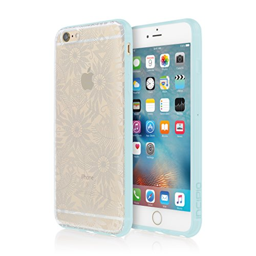 Beaded Cell Phone Case - iPhone 6S Plus Case, Incipio Beaded Daisy Design SeriesCover fits iPhone 6 Plus, iPhone 6S Plus - Silver