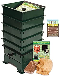 Amazon.com: Worm Factory - Compostador de gusanos (5 ...