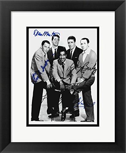 rat-pack-set-of-4-framed-prints-11-x-14-frank-sinatra-sammy-davis-jr-peter-lawford-dean-martin