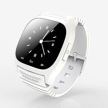 Reloj inteligente Bluetooth, pantalla táctil, con teléfono móvil con ranura para tarjeta SIM,