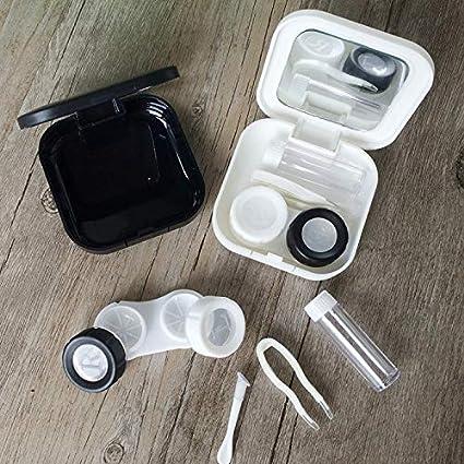 BIGBOBA Moda Custodia Custodia per Lenti a Contatto Portatile Occhiali Scatola per Occhiali per Donna