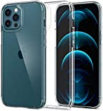 ESR Case for iPhone 12 (Max pro - Pro - 12 -Mini) Transparent - High Protection - Hard Tempered Glass Back - Flexible…