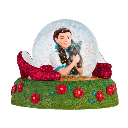 Department 56 Wizard of Oz Dorothy and Toto Waterball, 3.13 inch