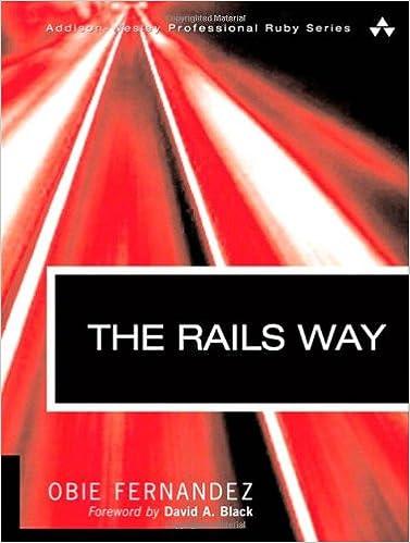 The rails way obie fernandez 0785342445619 amazon books the rails way 1st edition fandeluxe Images