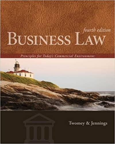Amazon business law principles for todays commercial business law principles for todays commercial environment 4th edition fandeluxe Choice Image