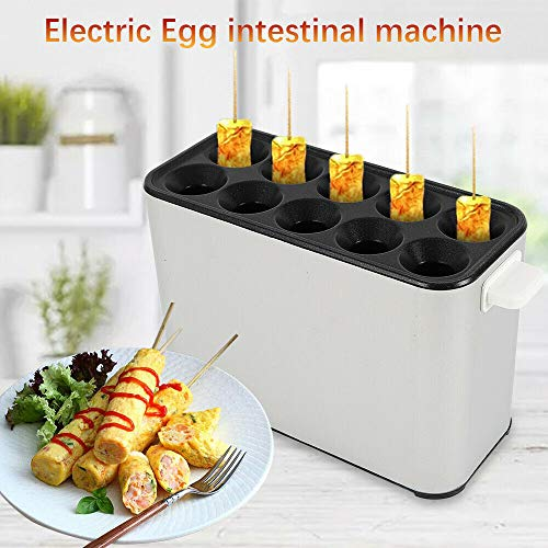 WUPYI 110V 1400W Electric Automatic Egg Roll Maker,Egg Master Roll Maker Breakfast DIY Egg Roll Machine Egg Roll Cooker Sausage Machine Egg Tools Home Commercial by WUPYI (Image #2)