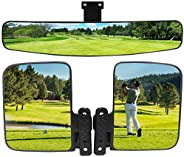 WLOOD Golf Cart Side Mirror and Central Mirror