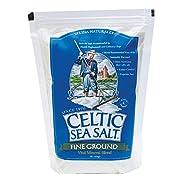 Celtic Sea Salt, Fine Ground, 8 Ounce