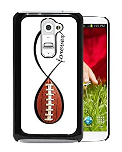 For LG G2,American Football Forever Infinity Forever Black Protective Case For LG G2