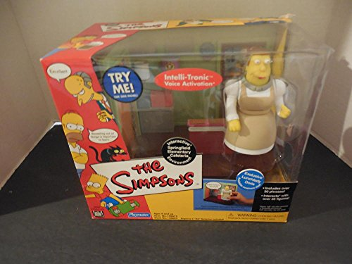 Simpson's Interactive Intelli-Tronic Exclusive Lunchlady Doris NIB
