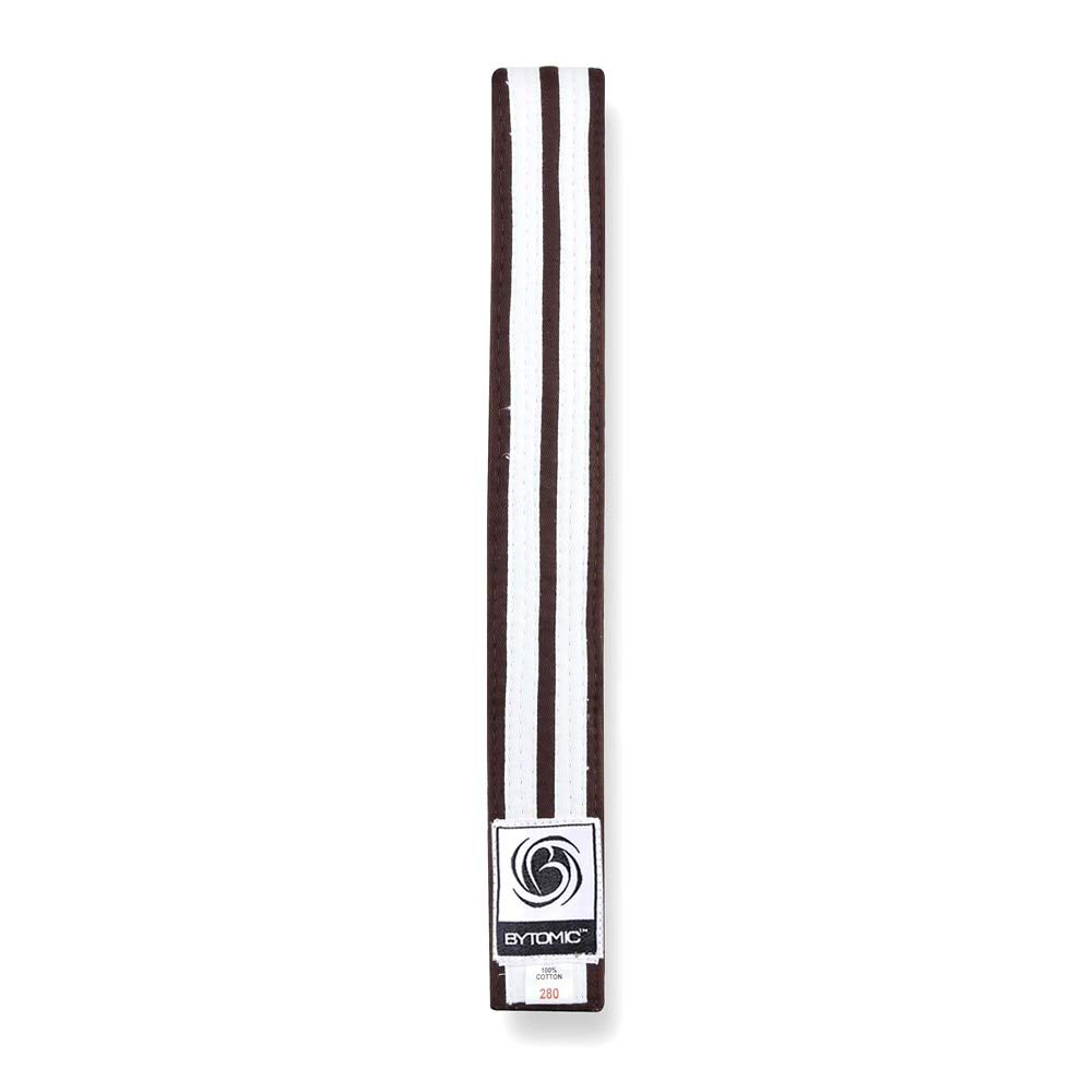 Bytomic White Stripe Martial Arts Belt