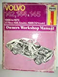 VOLVO 142,144, & 145 Owners Workshop Manual 1966 to 1973