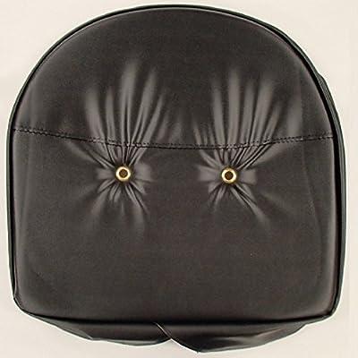 Black T295BLK Tractor Pan Seat Cover fits Ford John Deere Massey Ferguson MF +
