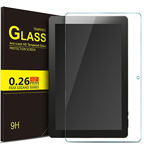 IVSO Dragon Touch X10 2017 Tablet Tempered-Glass Screen Protector,[Scratch-Resistant] [No-Bubble Easy Installation] for Dragon Touch X10 2017 Tablet (2pcs)