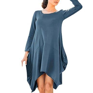 kleid damen gestreift blau sweat