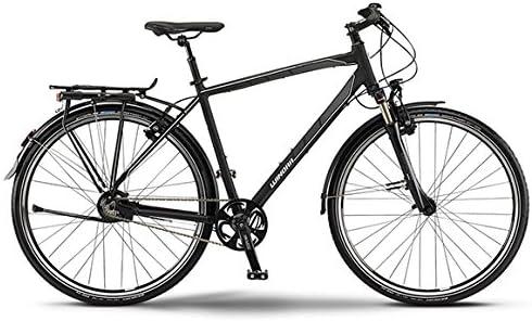 Winora Labrador hombre-bicicleta de trekking 14-cambio Rohloff cambio interno de buje negro/gris/blanco mate RH 52: Amazon.es: Deportes y aire libre