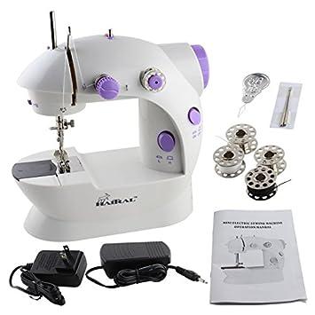 Amazon.com: haitral máquina de coser mini máquina de coser ...