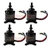 Hobbypower Sunnysky X2212 980KV 180W Brushless Motor for Multirotor Quadcopter Hexa Octa(pack of 4 pcs)