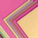 50 A3 Sheets Assorted Colours Sugar Paper Kid's Art & Craft Activities Collage (100gsm) (Pack of 50)