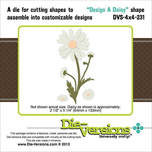 Die-Versions Shapes - Design A Daisy - Daisy Shape Die Shopping Results