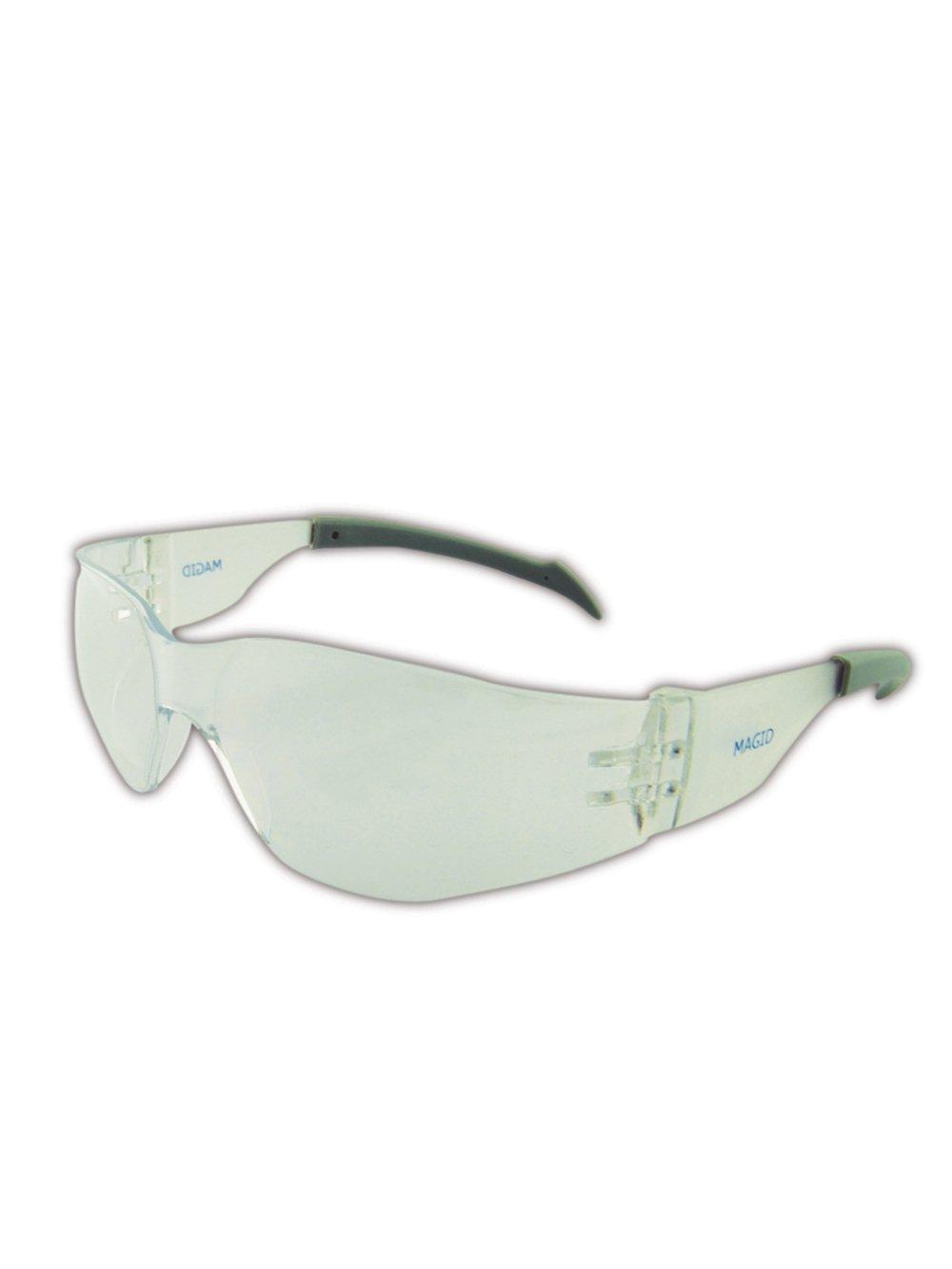 Magid Y15CFAFC Gemstone Myst Flex Protective Eyewears with Anti-Fog Coating One Pair Clear Lens and Frame