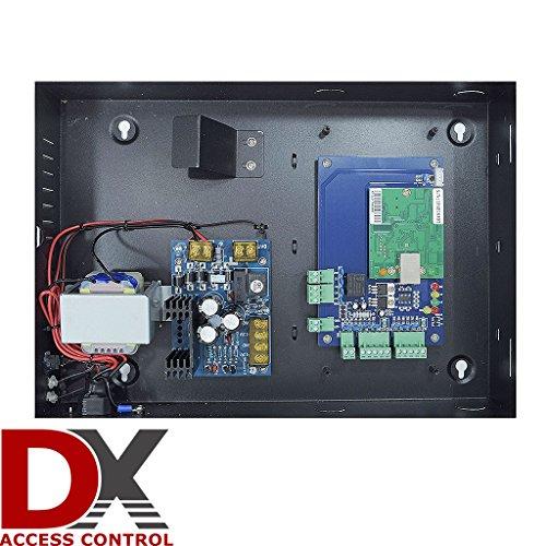 1 Door DX Access Control Panel Board-Software CD-Power Supply Box-Weatherproof