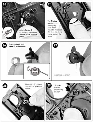 DEVMO DIY Lightnes Classic Retro Holga Lomo Recesky TLR Camera 35mm Film Twin Lens Reflex Kit 51oaHoaqGaL