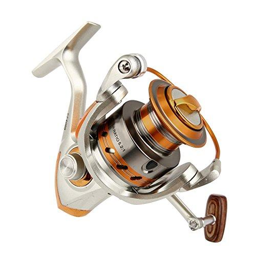 7000 Series blueeeShy9999  Outdoor Fishing Reels EF5009000 12BB 5.2 1 Metal Spinning Fishing Reels Fly Wheel for Fresh Salt Water Fishing Tool Accessorie