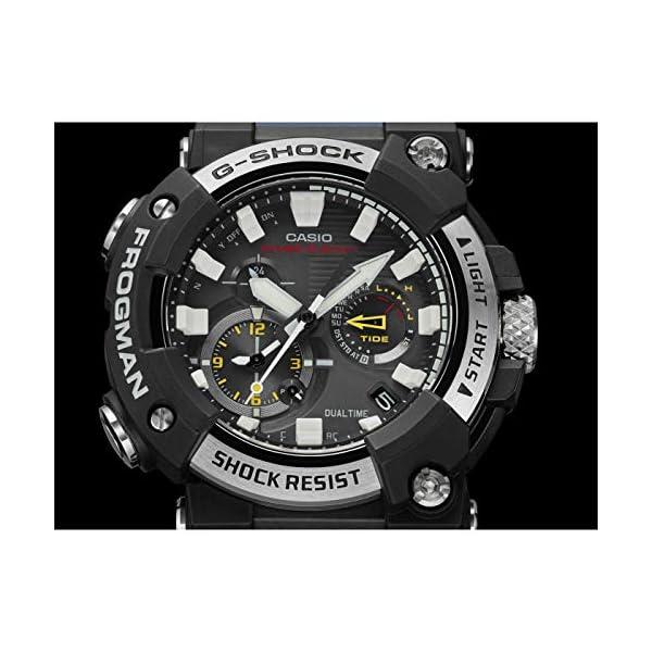 Casio G-Shock Frogman 2020 - Reloj analógico de cuarzo resistente a los golpes con Bluetooth, recepción de señal de… 6