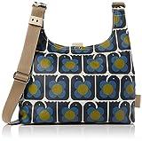 Orla Kiely Love Birds Print Midi Sling Bag, Navy