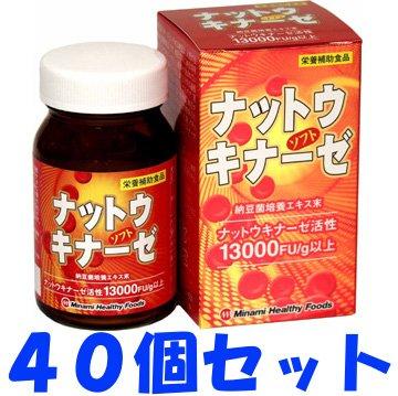 【ケース販売】ナットウキナーゼソフト 90球×40個セット B00N4OI31M