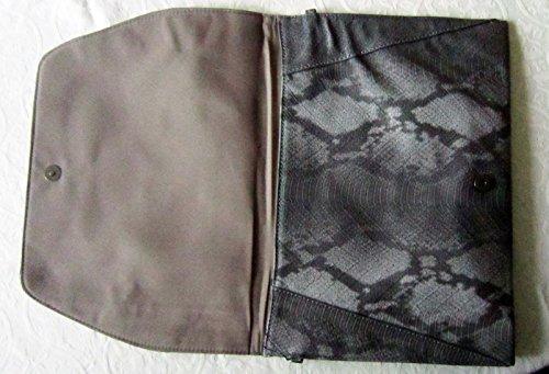 Bags by Dansk, Poschette giorno donna Grigio grigio