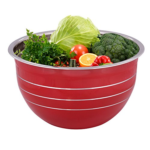 Large Bowl Stainless Steel Basin - 6