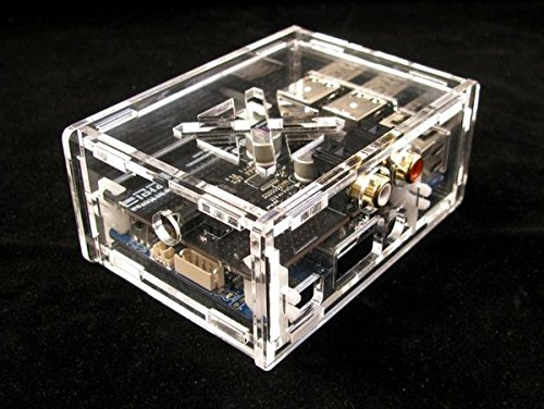 ODROID-C1+/C2 Case Compatible with HiFi Shield (Clear)