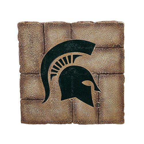 Team Sports America Michigan State University Garden Paver Team Logo Decorative Stepping Stone