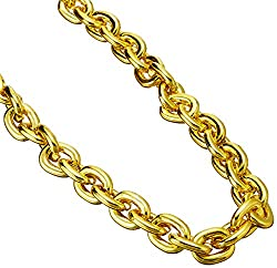 Chain Beads (Gold) Party Accessory (1 Count) (1card)