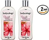 Bodycology Cherish the Moment (formerly Exotic Cherry Blossom) Body Lotion 12 oz Bodycology (Pack of 2) For Sale