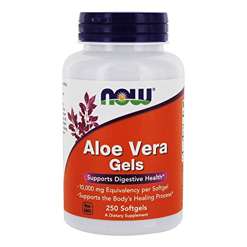 Now Foods Aloe Vera 10,000 Gels 250 Sgels
