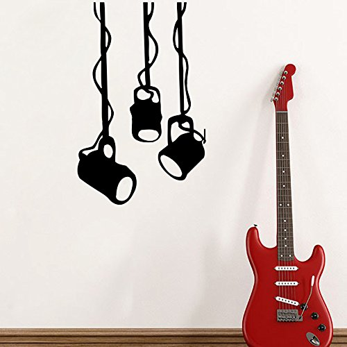 Wall Decals Stage Lights Living Any Room Design Music Studios Shops Vinyl Decal Sticker Home Decor Fast Shipping L288