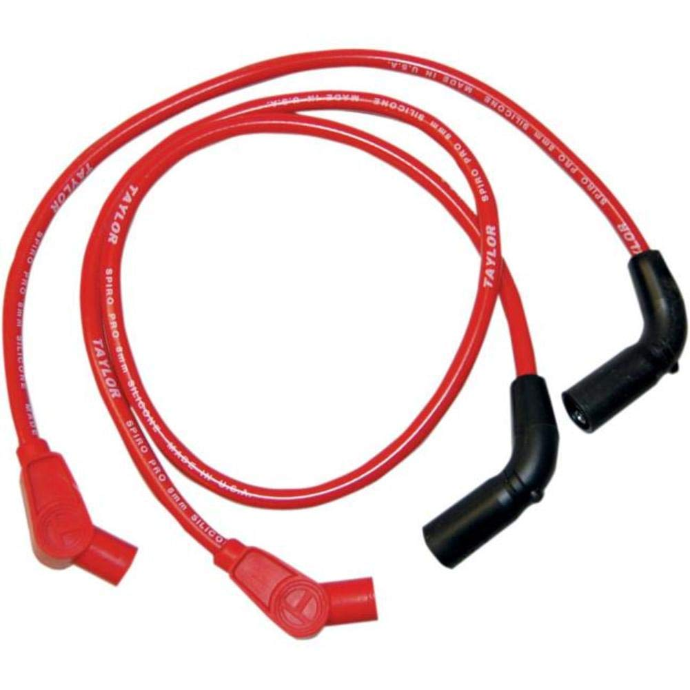 Sumax Custom Red 8mm Plug Wires 20234 product image