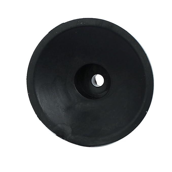 eDealMax 47mmx18mm compresor de aire de repuesto 4pcs del cojín del pie negro - - Amazon.com