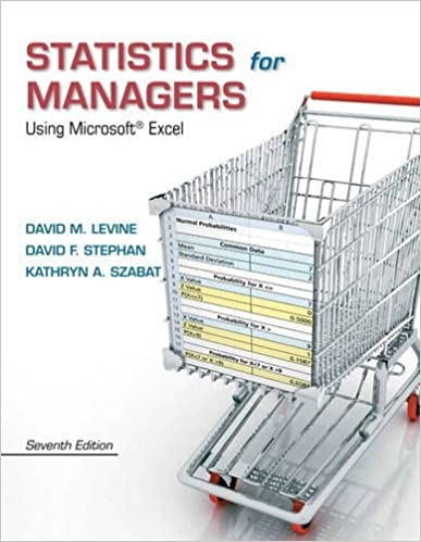Statistics for Managers Using Microsoft Excel (7th Edition): David ...
