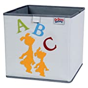 Trend Lab Dr. Seuss ABC Storage Bin, Yellow/Green/Red/Blue/Gray