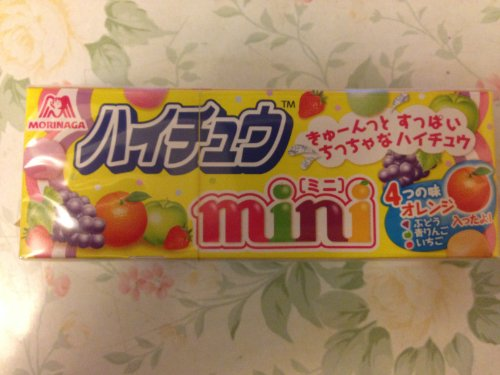 MORINAGA Japan Fruity Mini Soft Candy (strawberry,orange,apple,lemon) x 5pakcs