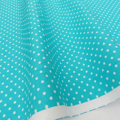 Floral Turquoise Stretch Jersey Knit Fabric 100/% Polyester Half Metre