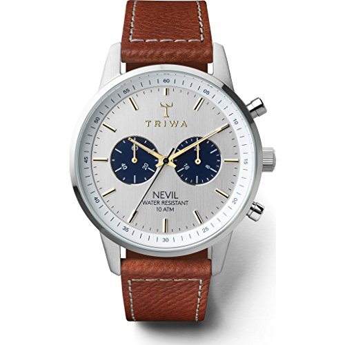Triwa Loch Nevil Sewn Classic 2 Watch | Tumbled Brown